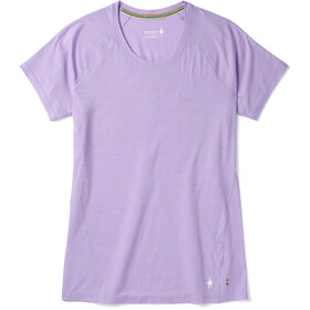 Smartwool Merino 150 Baselayer Pattern T-shirt Femme, cascade purple